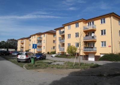 4 bytové domy vPraze – Chrášťanech